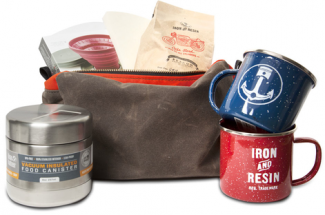 Iron and Resin Coffee Kit